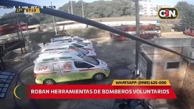 Roban importante herramienta de bomberos voluntarios de Capiatá