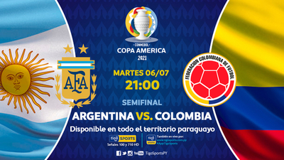Argentina y Colombia van por el paso a la final