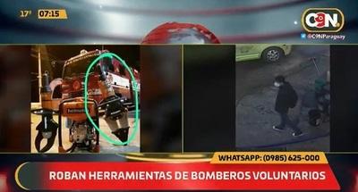 Bomberos denuncian robo de herramienta utilizada para rescates