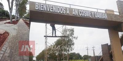 PORTICO DE SAN COSME SE INAUGURARÁ MAÑANA