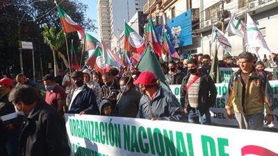 Organizaciones campesinas se movilizan por incumplimiento de promesas del Gobierno