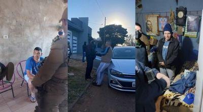 Caen presuntos miembros de esquema de tráfico de drogas al Brasil