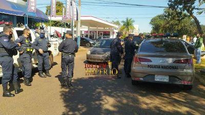 Intentan asaltar a  funcionarios de la Municipalidad