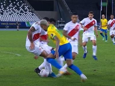Fantasía pura de Neymar para el único gol de Brasil