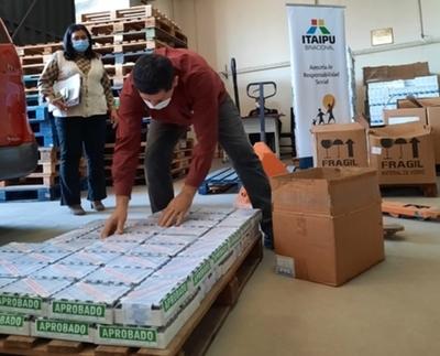 Itaipu concretó la cuarta entrega de medicamentos e insumos a Salud