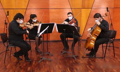 En Ciclo de música de Cámara de la OSN, Cuarteto de cuerdas de la FADA ofrecerá obras de Haydn Y Bigi