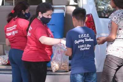Continúa asistencia a niñas, niños y adolescentes indígenas en plazas y calles de Asunción