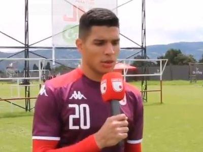 Iván Villalba fue presentado en el Independiente Santa Fe