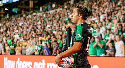 Cecilio la rompe en la MLS: Incluido en el equipo ideal del fin de semana