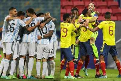 Copa América: Argentina y Colombia definirán quién será el rival de Brasil en la final