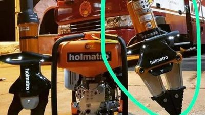 Roban instrumento salvavidas a bomberos rescatistas de Capiatá