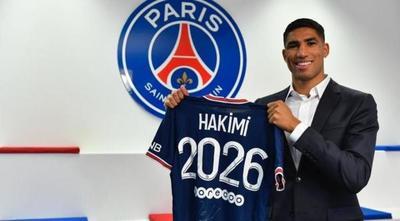 ¡Es oficial! Achraf Hakimi abandona el Inter y llega al PSG