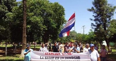 La Nación / San Pedro: toman USF y exigen contratación de personal de salud que atienda 24 horas