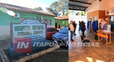 INTERESANTE DESCENSO DE CONTAGIADOS POR COVID EN CNEL. BOGADO