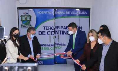 Habilitan tercer pabellón de contingencia en Villa Elisa