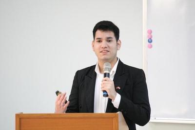 Joven sanlorenzano logró ganar un lugar en una de las mejores universidades de Taiwán