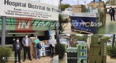 HOSPITAL DISTRITAL DE FRAM RECIBE EQUIPOS PARA LA DIGITALIZACIÓN DEL SISTEMA ADMINISTRATIVO