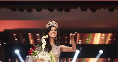 La Nación / Nervios jugó una mala pasada a señorita aspirante a Miss Grand Paraguay 2021