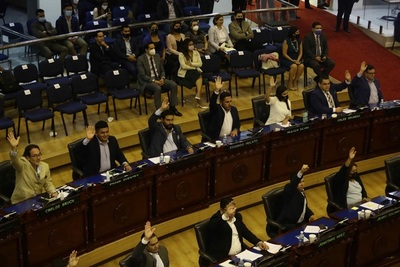 El Congreso salvadoreño avala millonarios préstamos para obras y seguridad