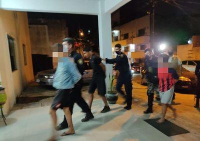 Asalto, persecución y detención de tres personas en la Chacarita