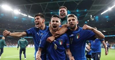 La Nación / Italia aguantó y festejó