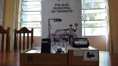 Multas emitidas por la PMT serán  electrónicas desde hoy en Asunción