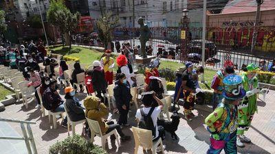 Detectan variante lambda en sede de Gobierno boliviano