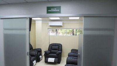 Tras denuncias, IPS   refaccionó cabina