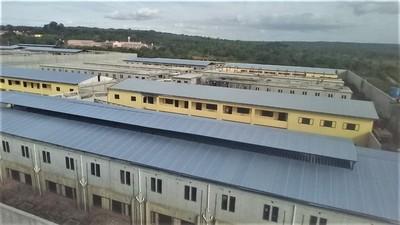 Nueva penitenciaría de Emboscada alcanza el 78% de avance