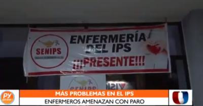 Enfermeros del IPS amenazan con paralizar hospitales