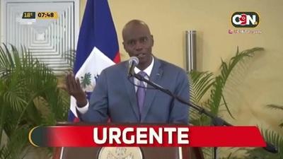 Asesinan a Presidente y a la Primera Dama de Haití