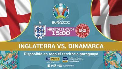 Inglaterra y Dinamarca buscan su lugar en la gran final