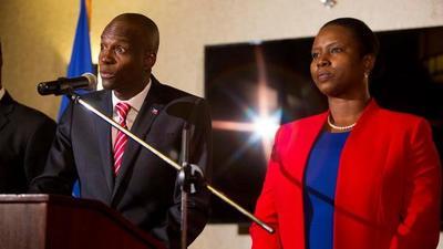 Asesinan al presidente de Haití y su esposa