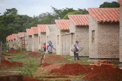 Indert y el MUVH gestionan la construcción de más de 1.500 casas en colonias rurales