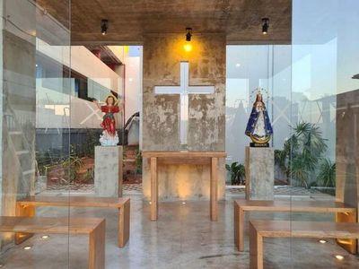 La capilla y las mejoras que Arce pidió y Cerro realizó