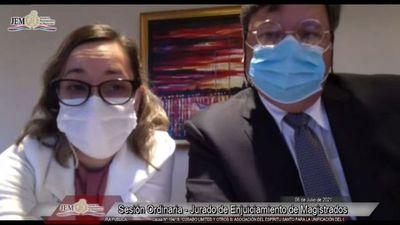 Jueza Tania Irún violó ley de seguridad fronteriza y fiscala acusadora del JEM pide sanción