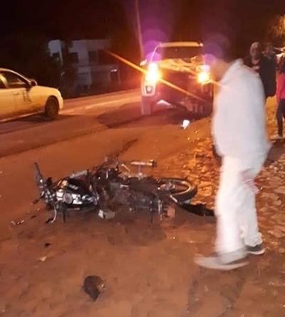 Motociclista muere en accidente de tránsito en Santa Rita