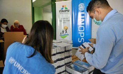 Itaipu prosigue con la entrega de medicamentos para pacientes con COVID-19 en Alto Paraná