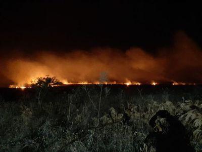 Incendio forestal afectó a comunidad de los ayoreos en el Alto Paraguay