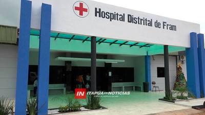 HARMS PRESENTÓ PROYECTO PARA INCLUIR AL HOSPITAL DE FRAM EN PROGRAMA PYTYVO MEDICAMENTOS