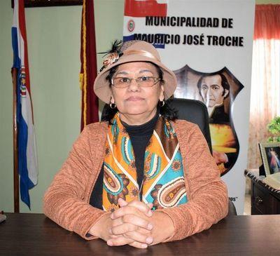 Intendenta de Troche, con arresto pero con permiso para ir a la Municipalidad