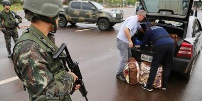 Contrabando: Brasil aprieta controles en la frontera