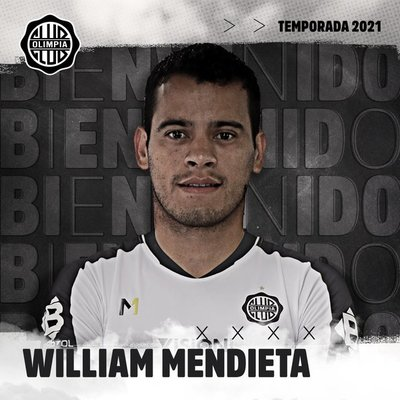 """El """"Willi"""" Mendieta regresa a Olimpia"""