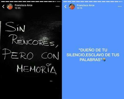 Los mensajes de Francisco Arce por las frases de Miguel Almirón contra los históricos de la selección