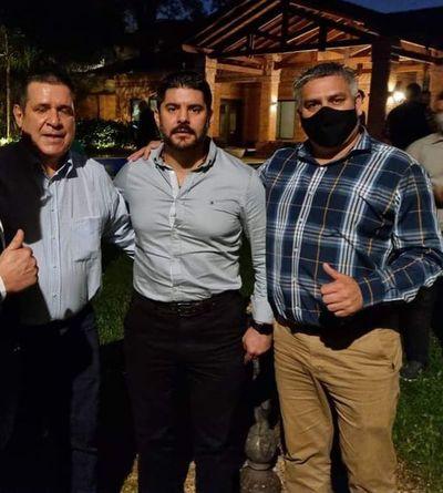 """César Ojeda """"cubrirá"""" a Nenecho en la intendencia de Asunción"""