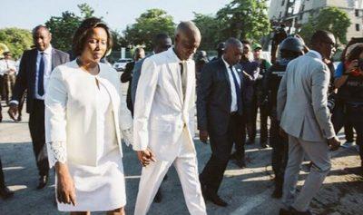 Primera Dama de Haití continúa hospitalizada tras atentado
