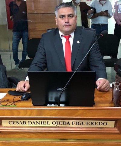El colorado Cesar Ojeda fue designado intendente de Asunción