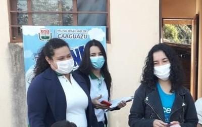 Adolescentes del Bo. 8 de Diciembre de Caaguazú se capacitan para contrarrestar la violencia