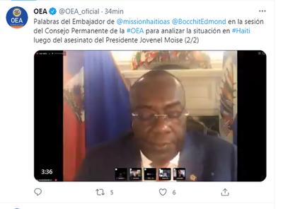 Tras magnicidio de Jovenel: OEA se reúne de emergencia para evaluar crisis en Haití