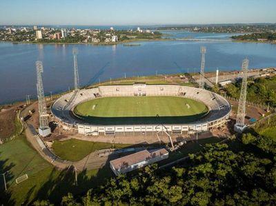 Directivos de la Liga Encarnacena aseguran que el Estadio Villa Alegre quedó inconcluso